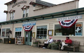 Prince Charles recently made Pt Reyes Station his CA destination