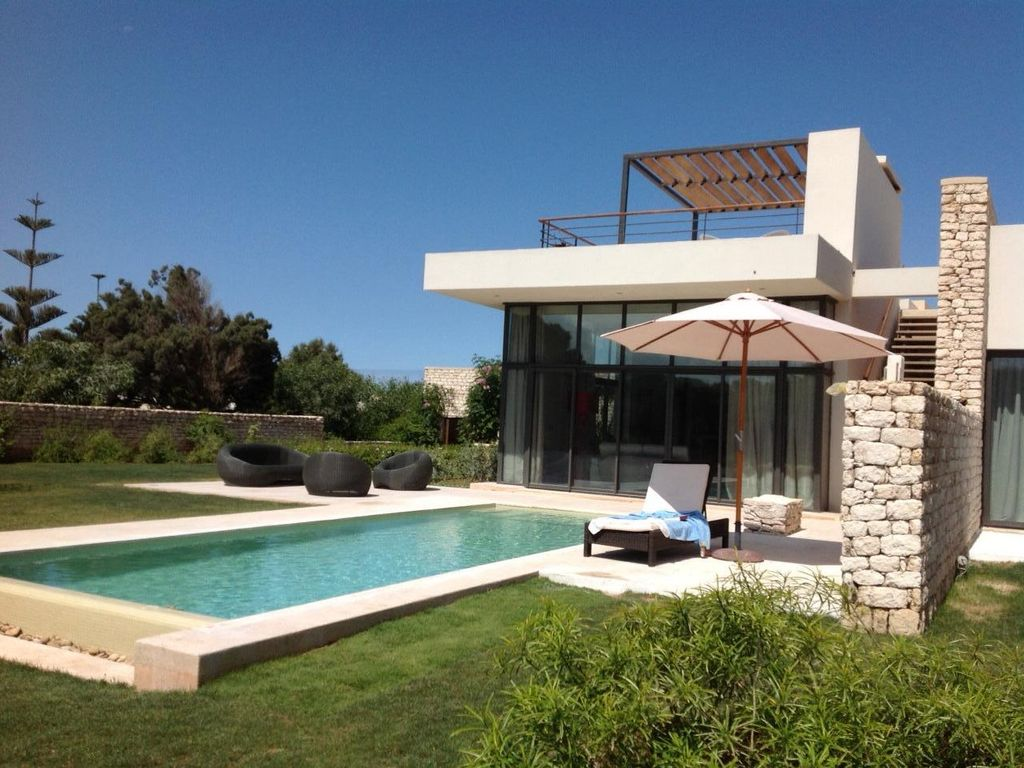 Villa 33 of mogador: exceptional modern villa, with its well known ...