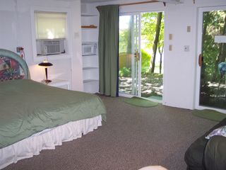 Gilford house photo - Private one room Guest Quarters w/king bed. TV, A/C,