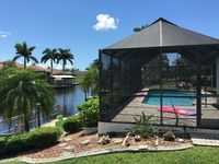 TARA PoolHome in Cape Coral on the canal