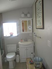 Mexico Beach house photo - Another view of back bathroom.
