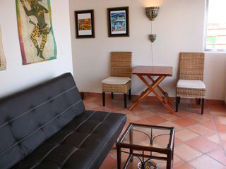 Isla Mujeres apartment photo - Living room area.