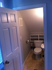 Provincetown cottage photo - Half bath on first floor