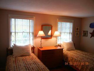 Main floor twin bedroom - East Orleans house vacation rental photo