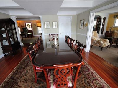 Mystic house rental - Formal Dining Room