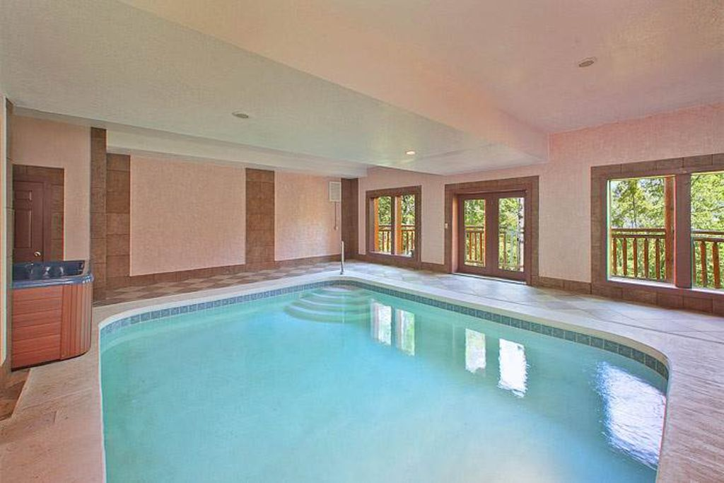 Forested tranquility with private pool hot vrbo - Cottages to rent with swimming pool ...