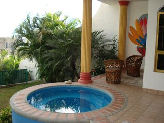 La Cruz de Huanacaxtle house photo - Private Terrace with Dipping Pool