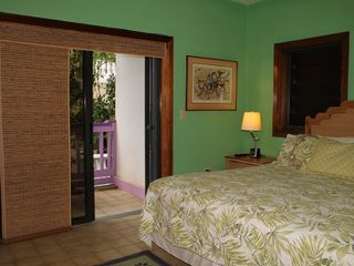 Cruz Bay condo photo - The private bedroom balcony is ideal for morning relaxation.