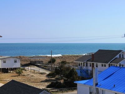 Carolina Beach house rental - View from Back Deck