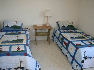 Bedroom #4 with twins (or push together for King) - Barnegat Light house vacation rental photo