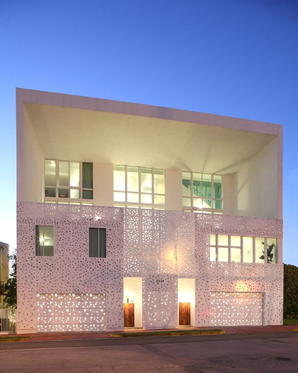 Miami Beach townhome rental - Exterior Front