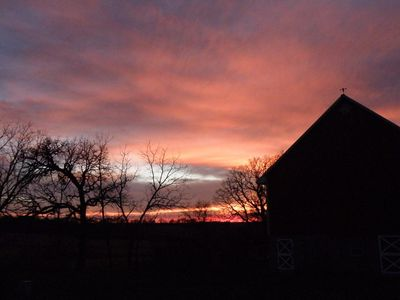 NEW WINTER RATES!  Peaceful Solar-Powered Country Home 6 miles from Mayo Clinic