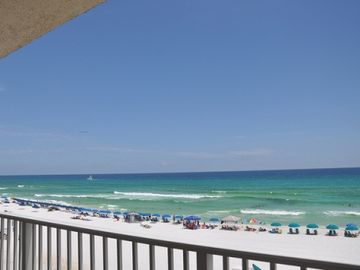 Okaloosa Island condo rental - view from private balcony