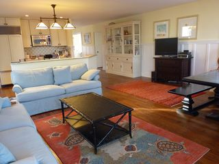 Rehoboth Beach house photo - Kitchen, sitting area with dining table on right