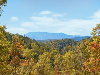 Pigeon Forge cabin photo - Mount Leconte from the cabin