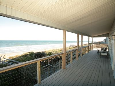 When You Take a Break from the Sun,Covered Part of the Deck Enjoy the Views!