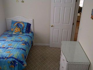 Middle bedroom. Picture shows the single bed. - Wildwood condo vacation rental photo