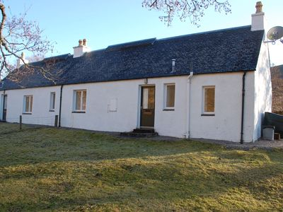 Strathcarron bungalow rental - West Bothy - sleeps six on right with East Bothy on left - sleeps four