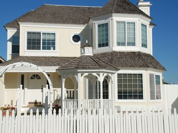 Oxnard house rental - Charming Victorian with gazebo and front porch.