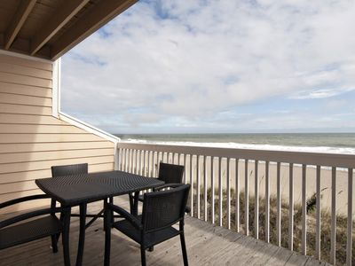 Ocean front 3 bedroom townhouse in the Ocean Dunes Resort