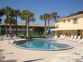 Vero Beach condo photo - Pool, Tennis Court, Clubhouse