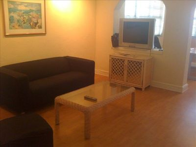 Great room and office with free Wifi complements of the City of Miami Beach