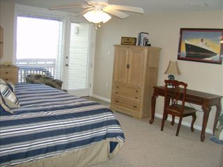 South Padre Island condo photo - Desk in Master bedroom