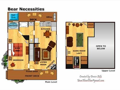 Floor Plan For Bear Necessities