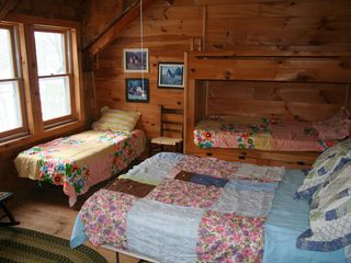 Woodstock lodge photo - Large family bedroom