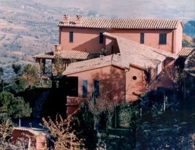 Villa Nuba holiday rental in Umbria,countryside close the University, and center