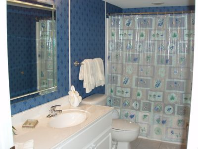 Cherry Grove Beach condo rental - The Second Bathroom