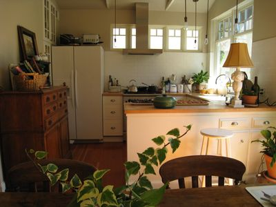 My charming kitchen is a delight to cooks and gourmet chefs alike.