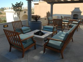 Oceanside condo photo - Outdoor fireplace, in Common Area