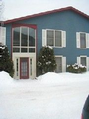 Killington condo rental - Pond View Condo entrance