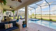 Stay at Sunset Getaway - a 6 bed family pool home in ChampionsGate near Disney!