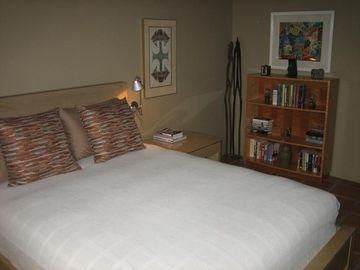 Bedroom suite on opposite side of house