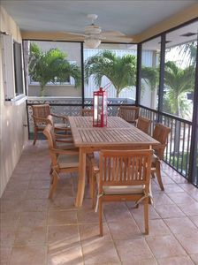 Tavernier house rental - Outdoor dining