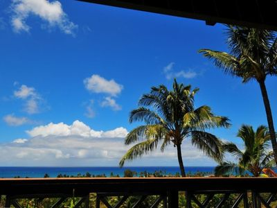 Sunset Beach house rental - second floor lanai ocean view 3 of 3