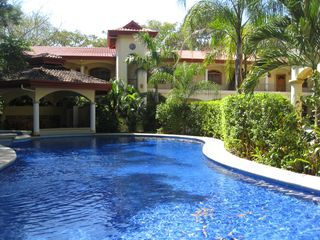 Nosara villa photo - Pool, Jacuzzi and Rancho