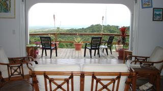 Vieques Island property rental photo - Main house living area