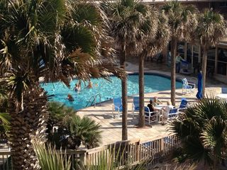 North Padre Island condo photo - Heated pool