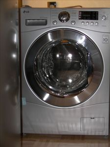 New LG washer dryer.
