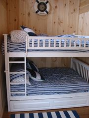 Hyannis - Hyannisport house photo - Full over Full bunk beds w a twin trundle to boot!