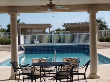 Foley condo rental - Beautiful waterfall pool