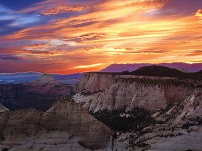 West Rim Sunset Photo by Chris Williams