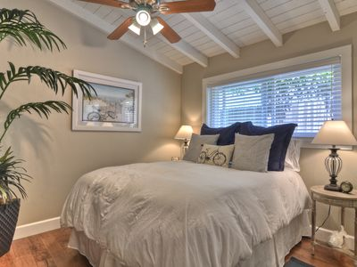 Queen Bedroom with side tables, closet and 2 dressers