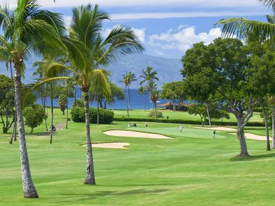 Kaanapali offers two stunning golf courses