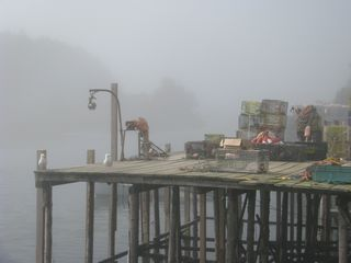 Phippsburg house photo - Local Lobster wharf in West Point