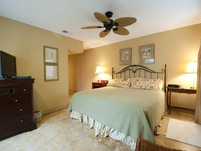 Master Bedroom Suite - private 2nd floor suite with king and 400+ count linens