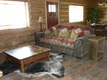 living room cabin 1